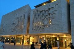 La Valletta: Palazzo del Parlamento di Malta, progettato da Renzo Piano